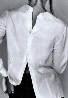 #white #color #whiteshirt #basic #intemporal #beauty #shirt #model #attitude #inspiration #bash #bashparis #details