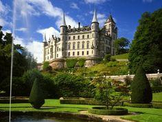 Dunrobin Castle, Sutherland, Scotland.