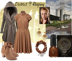 """District 9 Reaping"" by mystimorgan on Polyvore"