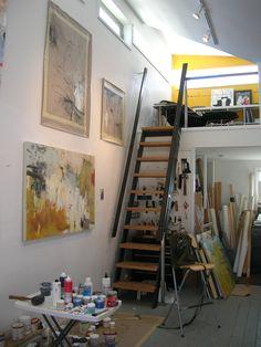 Krista Harris, studio