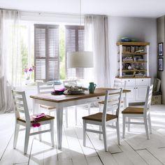 Die #Einrichtung Im Modernen #Landhausstil überzeugt Durch Eine Helle Und  Freundliche #Gestaltung.