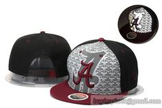 NCAA College Football Alabama Crimson Tide Reflective Snapback Hats|only US$8.90 - follow me to pick up couopons.