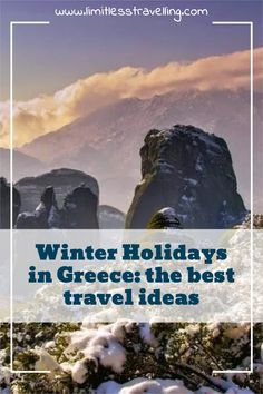 What is Greece for you? I am pretty sure that for most travelers, it is primarily a summer destination with the azure sea, sunny weather, delicious Greek food, and many hours spent on the beach. But what about the winter holidays in Greece? Snowy mountains, ski modern resorts, natural thermal SPA baths, mild climate, Christmas markets with winter entertainments make visiting Greece very attractive even during the winter holidays. Spa Baths, Greece Photography, International Travel Tips, Greece Holiday, Holidays Around The World, Winter Destinations, Sunny Weather, Christmas Markets, Snowy Mountains