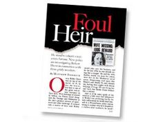 Classic Reading: Foul Heir (May 2002)