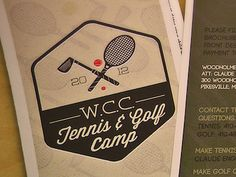 Wcc Golf And Tennis Camp Brochure by Fedor Sosnin