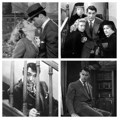 "Cary Grant in ""Arsenic and Old Lace"""