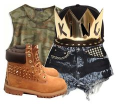 """king"" by rld2603 on Polyvore featuring American Eagle Outfitters, Streets Ahead and Timberland"