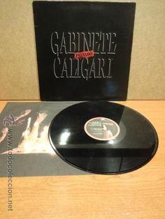 GABINETE CALIGARI. PRIVADO. LP-GATEFOLD / EMI - 1989. BUENA CALIDAD. ***/***
