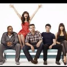 The New Girl...the funniest show I've seen in a long time!