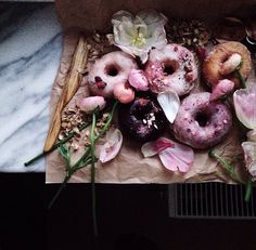 The most beautiful doughnuts