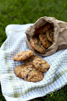 Trail Mix Cookies by annieseats, made these last night. Yummy and healthy. Used spelt flour instead