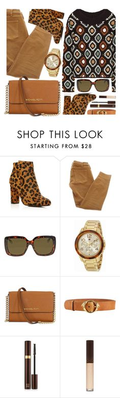 """""""Mix Up"""" by jomashop ❤ liked on Polyvore featuring Raye, Current/Elliott, Gucci, Tommy Hilfiger, Michael Kors, Roberto Cavalli, Tom Ford, leopard, brown and beige"""
