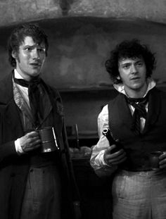 The second best reaction to Marius ever (Aaronjolras eyeroll will forever be number one.)