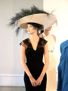 American Express Green Cut Challenge - My Fair Lady by George Cukor, 1964; Hat creation re-interpreted by Stephen Jones
