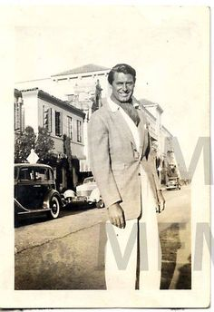 CARY GRANT, 1930s / From the personal collection of publicist Larry Kleno.