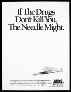 If the Drugs Don't Kill You, The Needle Might