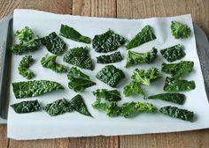 How to Make Kale Chips - This recipe is the best I've found!!  Following these directions bakes them perfectly