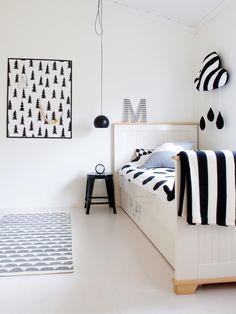 Bedroom the son of a Norwegian blogger Diana Ousdal - #modern #contemporary #kids #room #nursery #playroom #interior #design #idea #solution #architecture #construction #build #custom