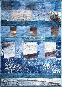 Christine Restall art quilt (UK)