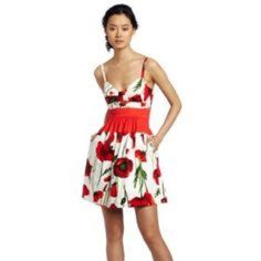 Flower print mini dress Never worn 100% cotton beautifully tailored Jessica Simpson Dresses Mini