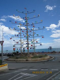 random roundabout in #Benalmadena
