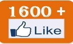 100% USA Profile Fans Order  job. Yes Yes Yes Now Providing 1600  Fans :D So Hurry Up... I Will Again Increase My job After Some Days :) 1600  Facebook Fans No Admin Access Required NOTE: I can give upto 100k facebook likesYou can order 50 times for single pageeach time i will give you 1600  likes