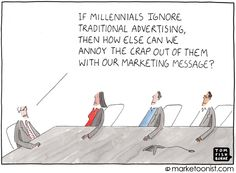 marketing to millennials - Tom Fishburne