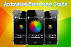 Breathing Zone - Relaxing Breathing Exercises ($3.99)  There are no complicated settings and no difficult breathing patterns to master.    Features:   • Easy to follow voice instructions.   • Intuitive animated breathing guide.   • Four calming ♬ Guide Sounds   • Breathing Analyzer measures your breathing rate.   • Timed sessions from 5 to 30 minutes.   • Weekly Target tracks your therapeutic breathing minutes. Voice Therapy, Speech Therapy, Ipods, Coping Skills, Speech And Language, Psych, Breathe, The Voice, Theater