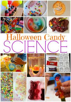 Fun Halloween Candy Science Experiments for Kids.