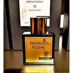 SOTD: Pachulí Kozha by Nishane Istanbul Notes: Hyacinth, Ylang Armoise, Camomicle, Patchouli, Black Pepper, Leather, Honey, Incense