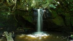 Cachoeira do Rio Cachoeirinha, interior de Porto União.