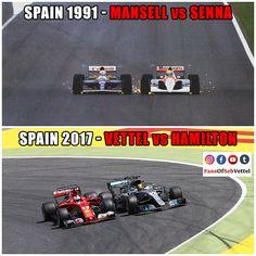 Nigel Mansell vs Ayrton Senna (1991) and Sebastian Vettel vs Lewis Hamilton (...