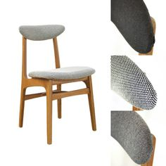 Originally produced in refurbished in 2013 Retro Furniture, Furniture Design, Mid Century Design, Interior Inspiration, Mid-century Modern, Restoration, Upholstery, Dining Chairs, Sweet Home