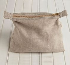 Linen Pouch...charming.