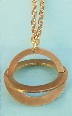 Hippstory Necklace Copernicus Brass