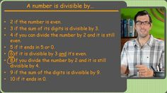 01-Divisibility Rules