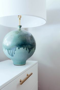 Cobble Hill Park via @onefinestay | Gaios Table Lamp by AERIN in Volcanic Verdi | shop now at circalighting.com