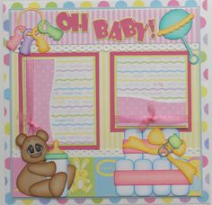 Super cute scrapbooking pages on this blog.