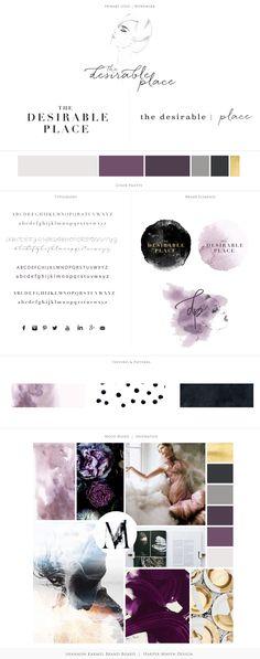 The Desirable Place Brand Design by Harper Maven Design | www.harpermavendesign.com