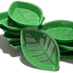 Palm Leaf Serving Trays (9$ / Dozen)