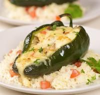 Photo of Chicken Cheese Stuffed Poblano Peppers