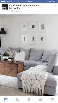 Fesselnd How To Style A Sectional Or Couch With Toss Cushions. Tips And Ideas For  Living Room Decorating And Decor ähnliche Tolle Projekte Und Ideen Wie Im  Bild ...