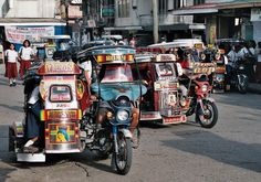 Tricycle can be found anywhere in the Philippines because its cheap, small and serve same as function of taxi usually in a small route. Just take a ride! Jeepney, Filipino Culture, Filipino Tattoos, Exotic Beaches, First Down, Tricycle, My Ride, Taxi, Southeast Asia