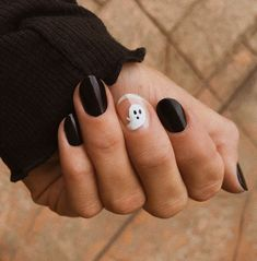 Holloween Nails, Cute Halloween Nails, Halloween Acrylic Nails, Fall Acrylic Nails, Halloween Nail Designs, Acrylic Nail Designs, Halloween Costumes, Halloween Coffin, Halloween Makeup