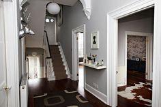 Brown & Grey - Hallway Design Ideas & Pictures – Decorating Ideas (houseandgarden.co.uk)