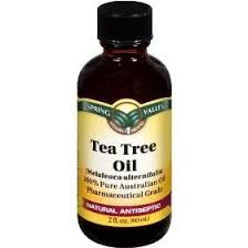 tea tree oil - for granulation tube caused by leaking - mix 15 drops to 5 oz of water, apply with q-tip to granulation tissue 2 times a day.
