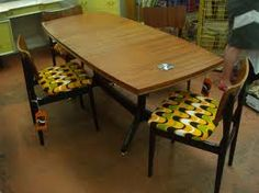 retro dining table - Google Search
