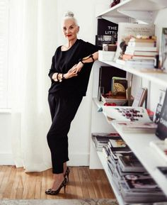 G12 RunwayJudge/Jackie Burger, owner and creator of Salon 58 & former editor of Elle South Africa.