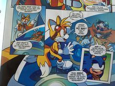 """"""" Places """"Tails and Eggman geeking out together"""" under my file of """"things I didn't know I needed in my life until now"""" """" DID THEY MAKE 'BACK TO THE FUTURE' REFERENCES????"""