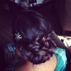 Bridesmaid Hair Option